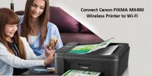 Canon PIXMA MX490 Wireless Printer Setup