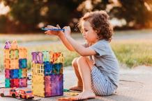 Connetix Magnetic Tiles – Children of the Wild