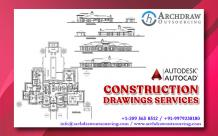Construction Drawings Services | Architectural Construction - Archdraw Outsourcing