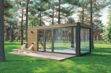 Bauen Sie innerhalb weniger Tage ein tiny Haus aus Holz: Einige Tipps