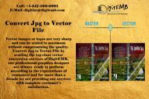 Convert Jpg to Vector File