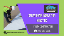 Spray Foam Insulation Minot ND