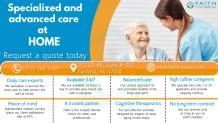 Home Care Services | You can't always be there but we can