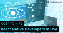 Factors affecting the cost of hiring a React Native developer in USA - TopDevelopers.co