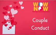 Opening of Lockdown and Couple Conduct: Couple Counselling