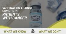 Vaccination Against Covid-19 in Patients with Cancer- What We Know and What We Don't?