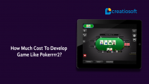 How much cost to develop game like Pokerrrr2? - Creatiosoft