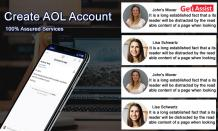 Create an AOL account and Start Emailing