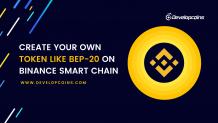 BEP20 Token Development Company | Create Your Own BEP20 Token on Binance Smart Chain