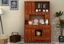 Crestor Kitchen Cabinet (Honey Finish)