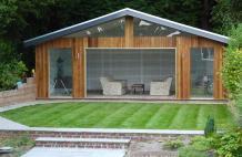 Build Multifunctional Garden Storage Sheds of Wood Easily