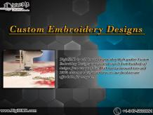 Custom Embroidery Designs