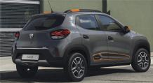 The new Dacia Spring electric car