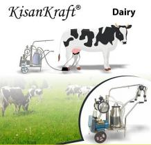 Milking machine and other dairy farming machines - KisanKraft