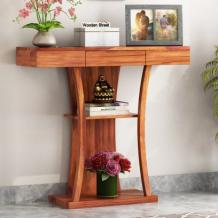 Console Table: Buy Wooden Console Tables Online in India Upto 55% OFF | WoodenStreet