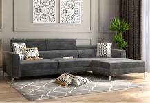 L Shaped Sofa: Buy L Shape Sofa Set Online @Upto 55% OFF   WoodenStreet