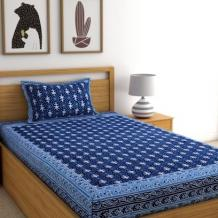 Single Bed Sheets: Buy Single Bedsheet Online @Upto 55% OFF | WoodenStreet