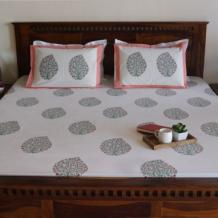 Exclusive Collection of Bed sheets at Wooden Street.