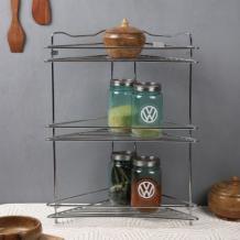 Steel Kitchen Rack: Buy Stainless Steel Kitchen Rack Online at Best Price | Woodenstreet