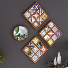 Wooden Mirror Frame Designs : Buy Wooden Mirror Frame Online in India