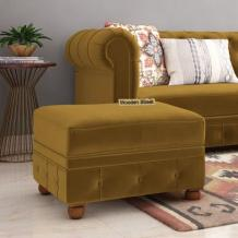 Get different material of ottoman furniture at Wooden Street