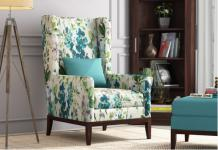 Get top quality of winged armchair at Wooden Street