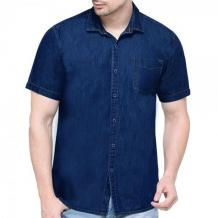 Half sleeve denim shirt