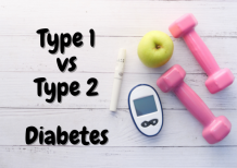 Difference between type 1 and type 2 diabetes | 2021