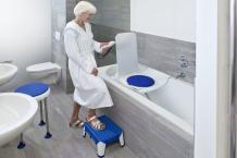 Hygienic Bathroom Seat For the Disabled