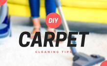 DIY Carpet Cleaning: 8 Smart Hacks from Experts – Home Decoration Tips