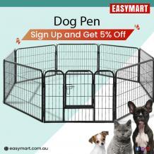 dog pen, dog playpen, dog exercise playpen