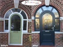uPVC doors spraying   Composite doors spraying   upvc spray paint in UK   The Colour Respray Company