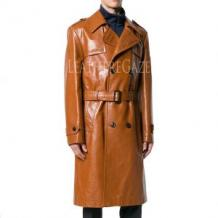 Men Leather Coat