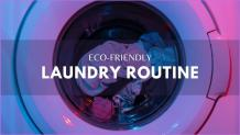 How to Do Eco-Friendly Laundry Routine