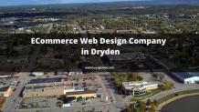 ECommerce Web Design Company  in Dryden