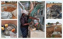 BTF4-8 Egg Tray Making Machine Installed in Zimbabwe - Beston Group