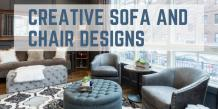 Elegant Sofa and Chair Designs for Your Home