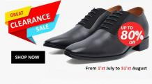Height Increasing Shoes for Men India - Elevator Shoes India