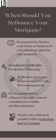 When You Should Refinance Your Mortgage?