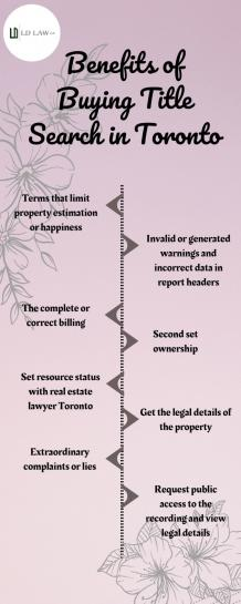 Benefits of Buying Title Search in Toronto
