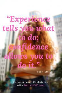 enhance confidence