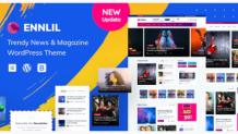 Ennlil - Modern Magazine Premium Responsive WordPress Theme by Gossip-Themes