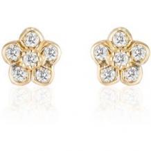 Semi Precious Earrings | Handmade Gold Diamond and Gemstone Jewelry