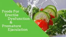 Foods for Erectile Dysfunction and Premature Ejaculation - Blue Kama