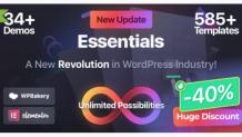 Essentials   the Most Advanced Multipurpose WordPress Theme by PixFort