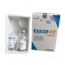 Exacef-Tz, Ceftriaxone Sodium 1000 Mg Tazobactam Sodium 125 Mg - Schwitz Biotech