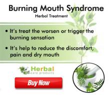 Home Remedies for Burning Mouth Syndrome Reduce Painful Syndrome - Herbal Care Products