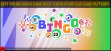 Best online bingo game well-known popular game patterns - deliciousslots