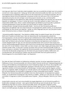 Schreckschusswaffen Erlaubt In Deutschland