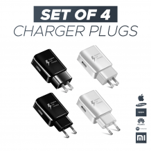 Fast Mobile Phone Charger Pack Of 4 | Mobile Accessories UK